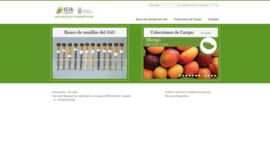 Ampliación de aplicación web del ICIA