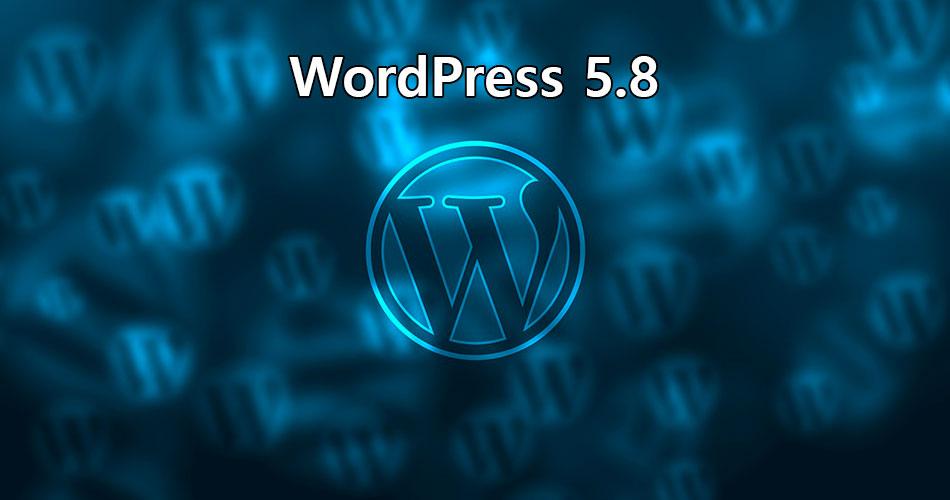 Novedades en WordPress 5.8